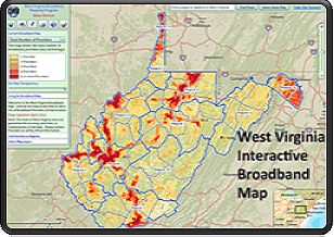 Image of Broadband Interactive Map